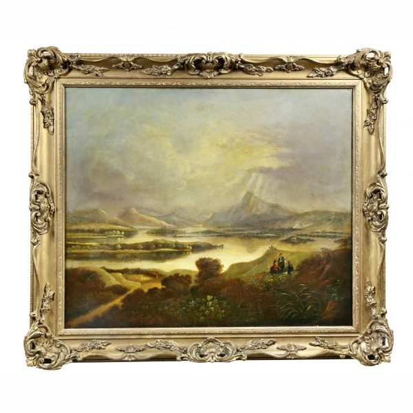 Scottish Landscape Oil on Canvas Painting.