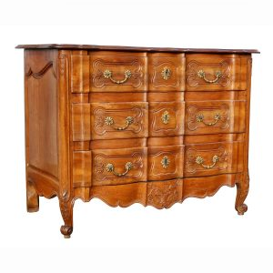 Louis XV Provincial Fruitwood Commode