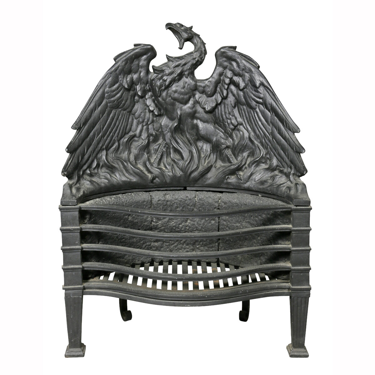 Cast Iron Fireplace Grate David Neligan Antiques