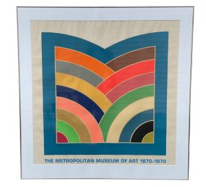 "Framed Poster ""The Metropolitan Museum Of Art 1870-1970"" by Frank Stella"