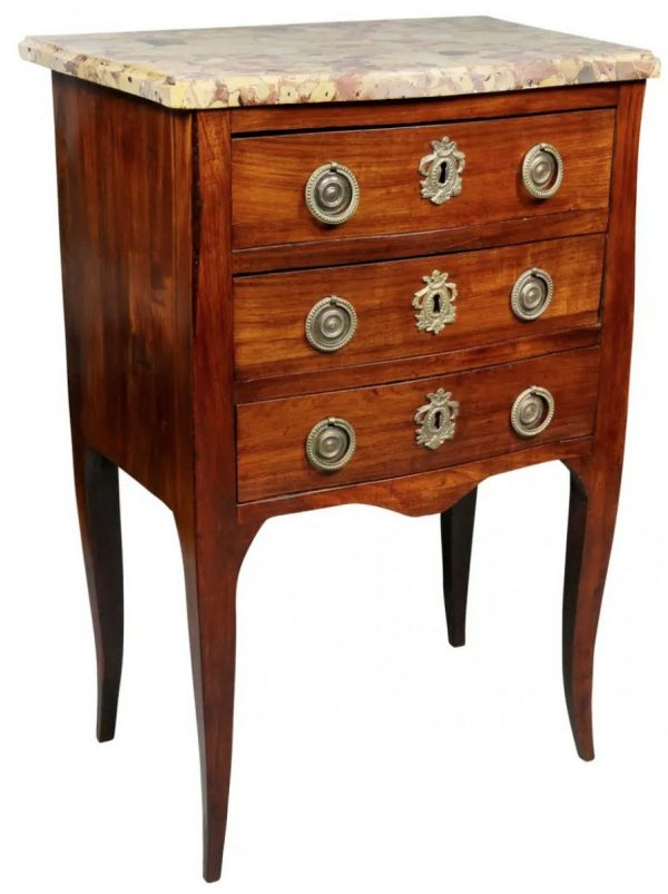 Louis XVI Mahogany Petit Commode