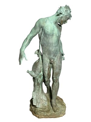 American Standing Garden Bronze Figure of Pan